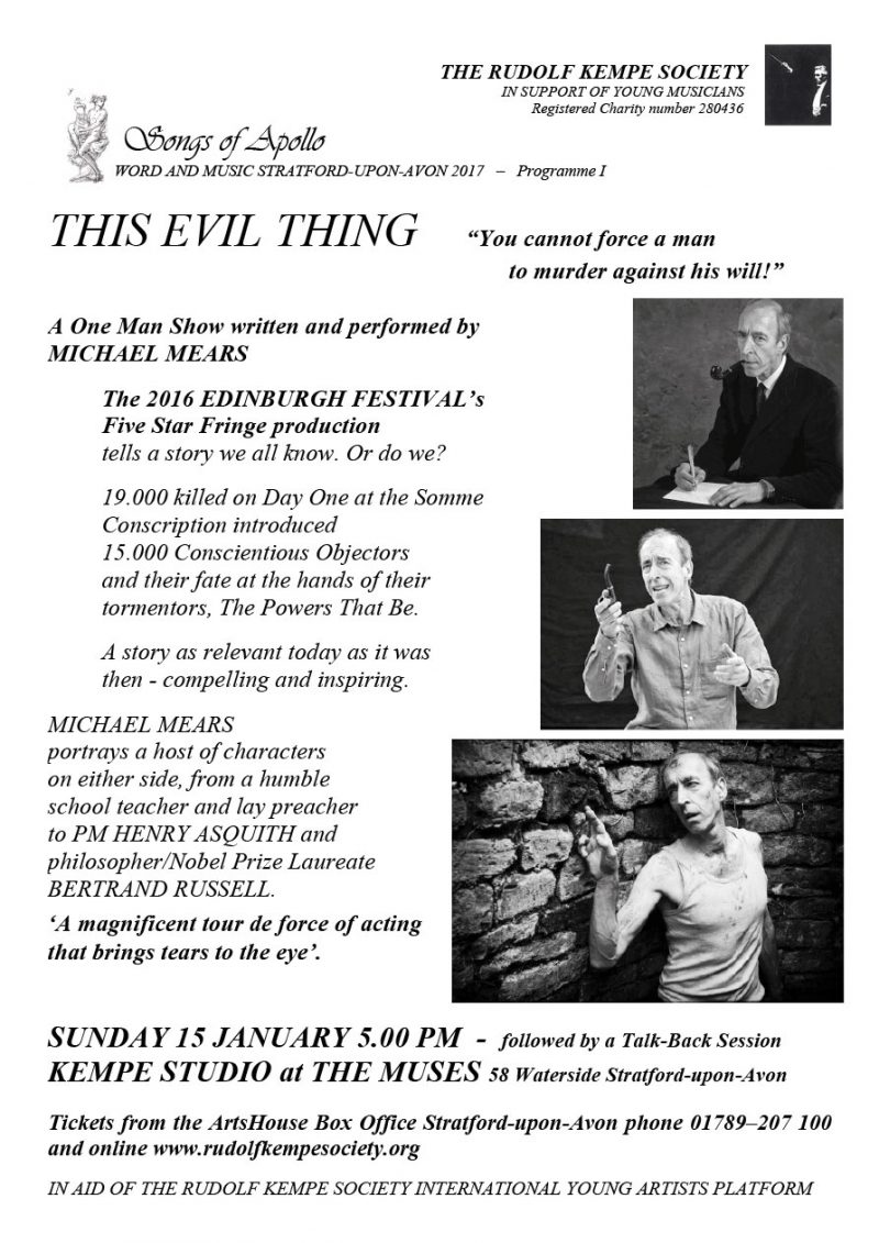 This Evil Thing - Sunday January 15th 2017