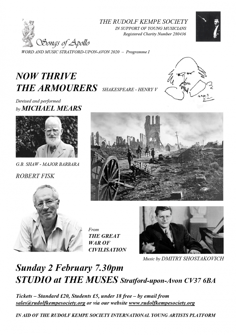 Now Thrive the Armourers - Sunday 2nd Feb 2020